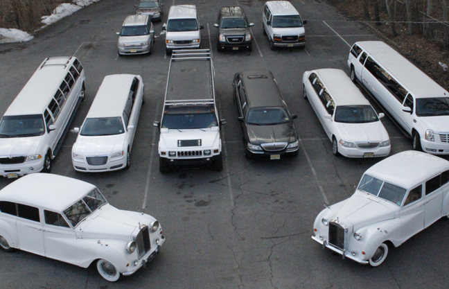 Fleet of limousines