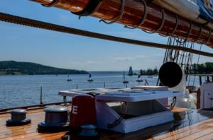a yacht deck